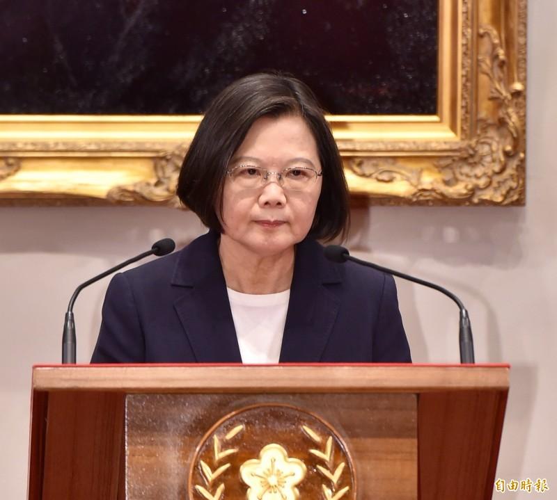 索羅門斷交》蔡英文:面對中國霸凌台灣必須要勇敢團結