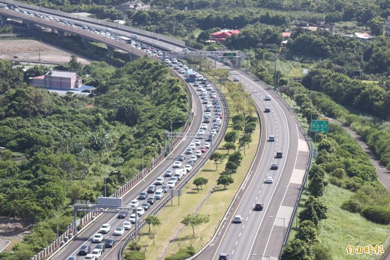 中秋假期國道每日肇事達103件 交通部:低於去年數字
