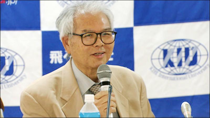 日本吉備國際大學教授加納良男,12日發表其研究團隊的研究成果。(取自網路)