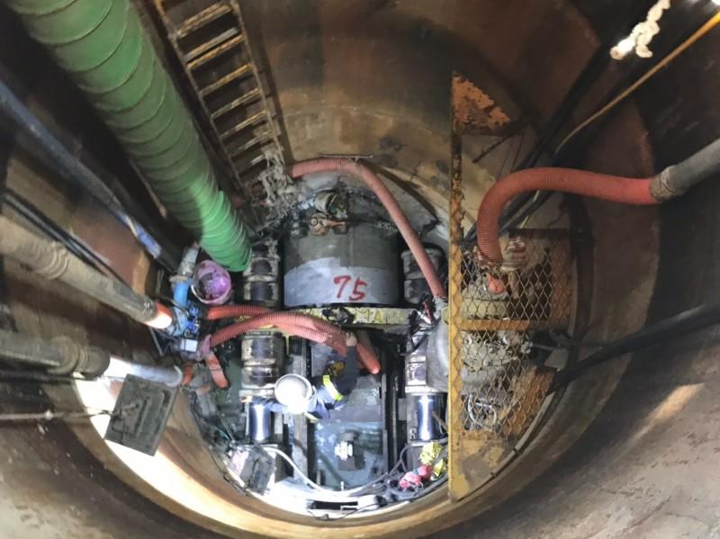 新北市政府每年負擔下水道操作維護經費約需9 億元。(新北市政府水利局提供)
