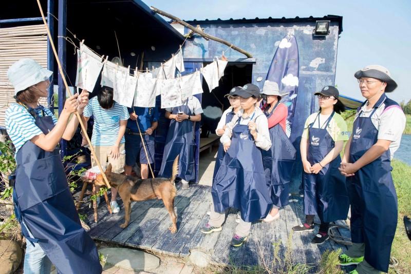 「魚塭裡的餐桌」一日遊  體驗漁村生活