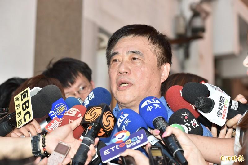 郝龍斌強調,國民黨沒有道理因為郭退黨,就開除郭台銘的黨籍。(資料照)