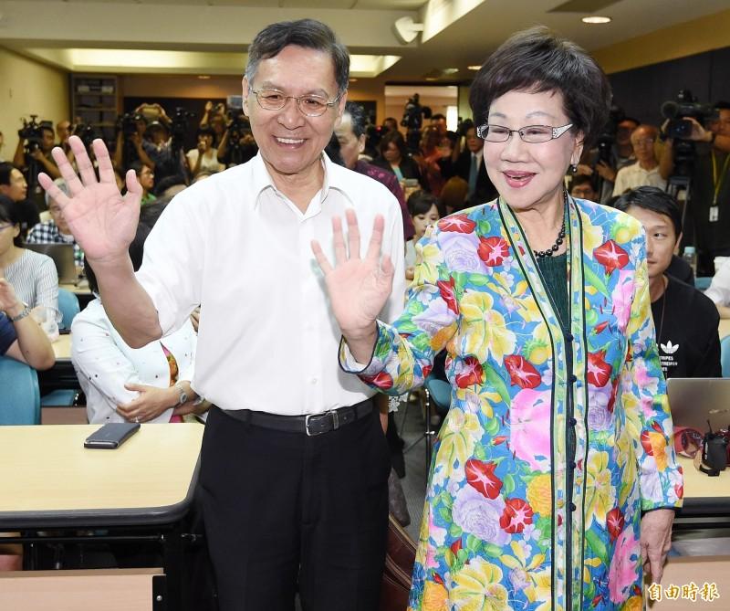 呂秀蓮選總統  管碧玲:抬轎過的前輩,用行動背離他們的信念
