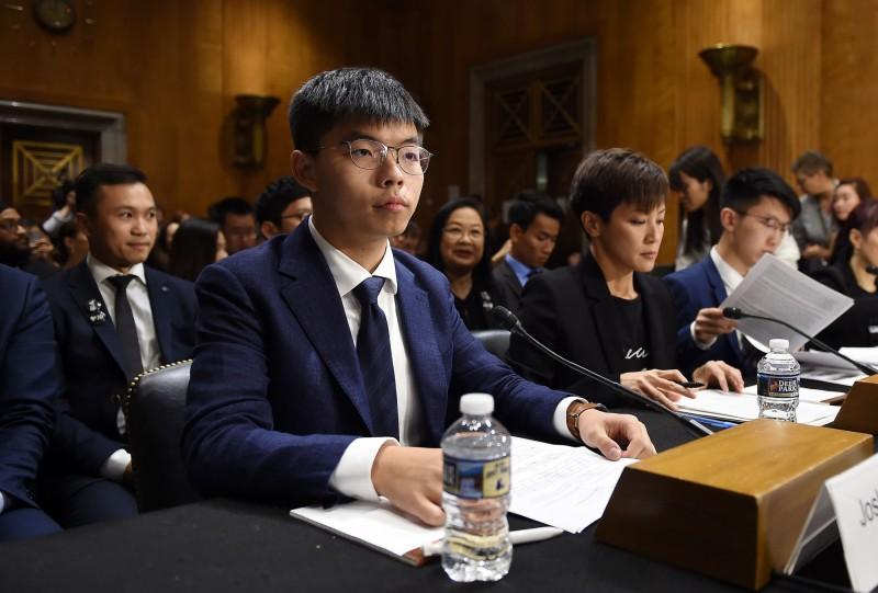 反送中》 黃之鋒、何韻詩出席聽證會 促美國會通過香港法案