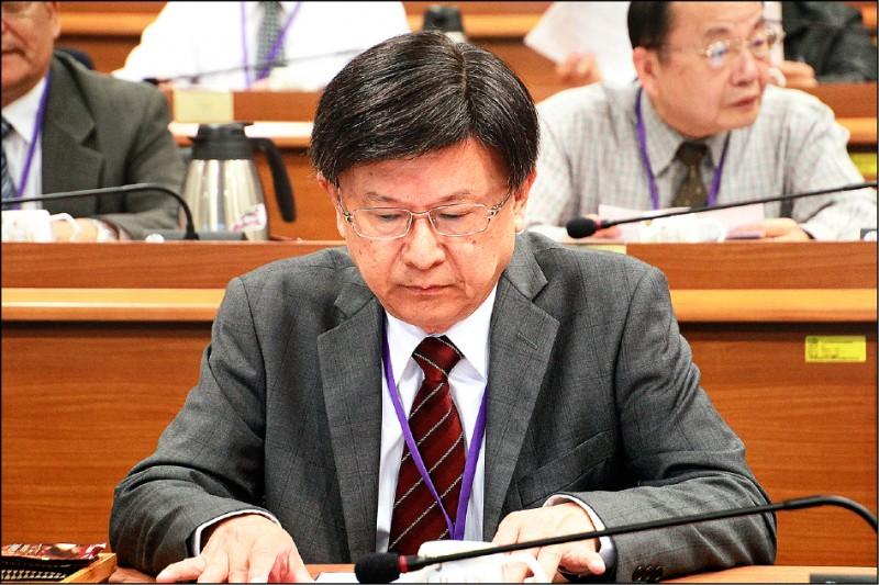 前公懲會委員長石木欽昨發表聲明,自認問心無愧。(資料照)