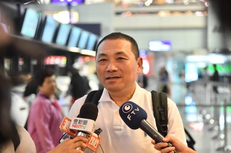 新北市長侯友宜表示,距選舉還有一段時間,現階段全力拚市政。(新北市政府提供)