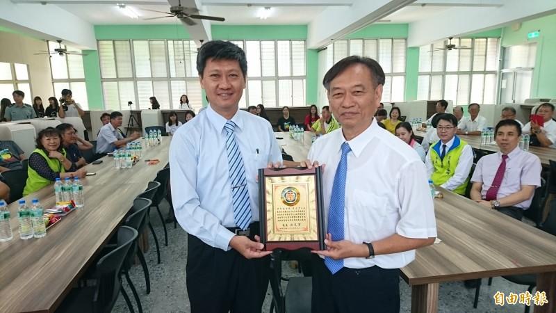 台南北門高中多功能自主學習中心揭牌啟用