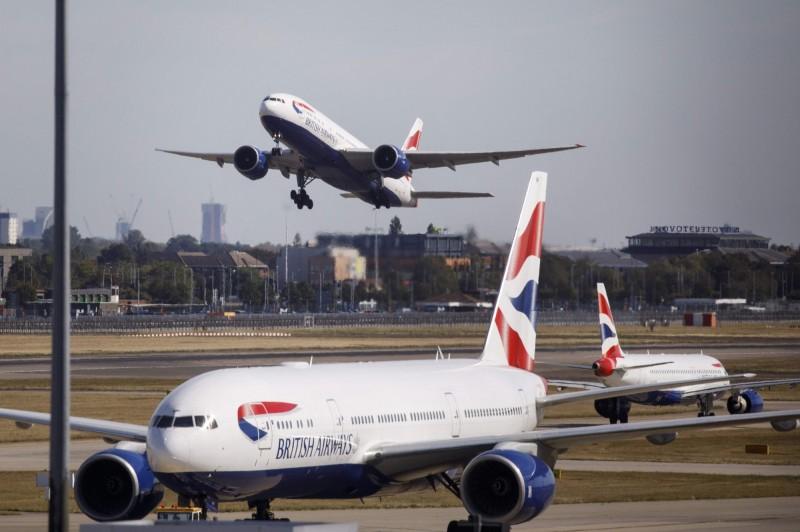 英國民航駕駛員協會(BALPA)宣布英航機師取消9月27日的罷工。(法新社)