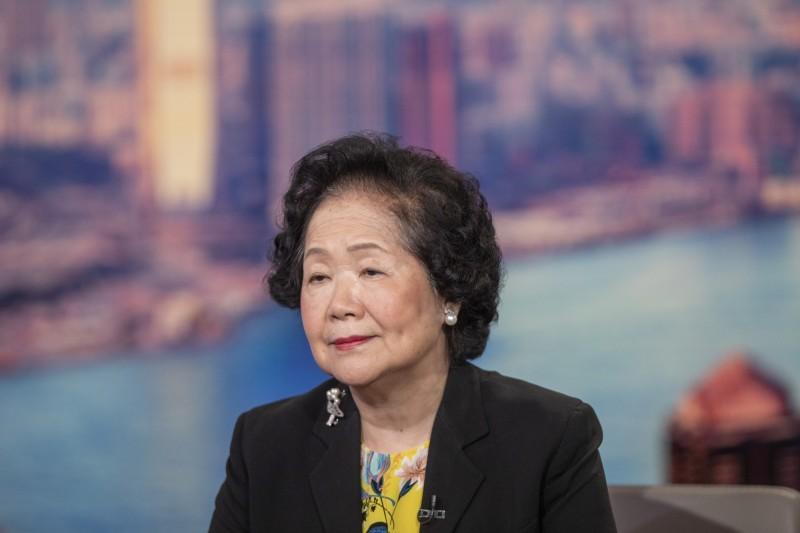 香港前政務司長陳方安生日前接受《BBC》專訪,談論香港「反送中運動」。(彭博)