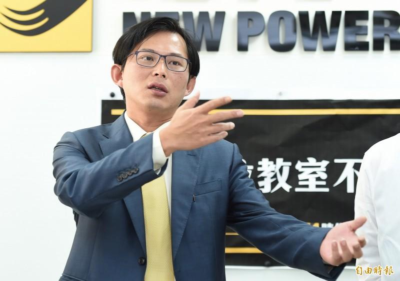 時代力量表示黨中央正草擬「時代力量總統候選人提名辦法」,並以徵召黃國昌委員為優先考量選項之一。(資料照)
