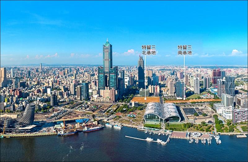 亞洲新灣區五大產業策略21項計畫,中央投入74.24億元。(高市府提供)