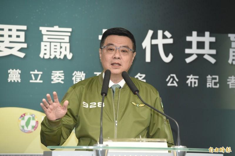 民進黨主席卓榮泰。(資料照)