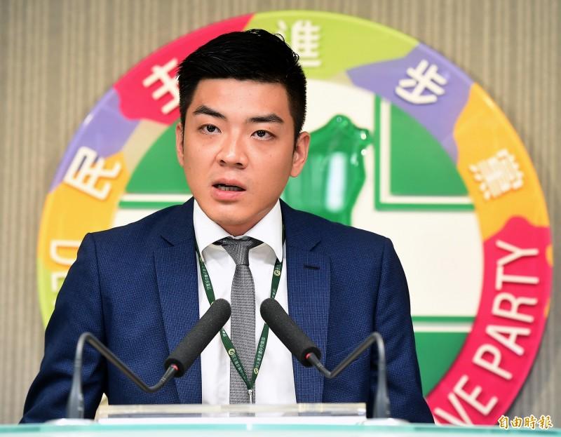 民進黨發言人吳濬彥(見圖)指出,國民黨曾為了選舉搞出宇昌案,毀了台灣的生技產業,令人痛心,呼籲停止惡質選舉歪風,停止慣性抹黑的選舉伎倆。(資料照,記者朱沛雄攝)