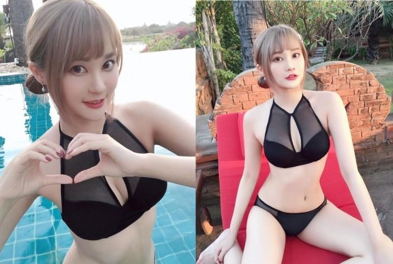 有網友翻出賴品妤過去的照片,亮麗外表以及姣好身段相當吸睛。(圖片擷取自賴品妤臉書)
