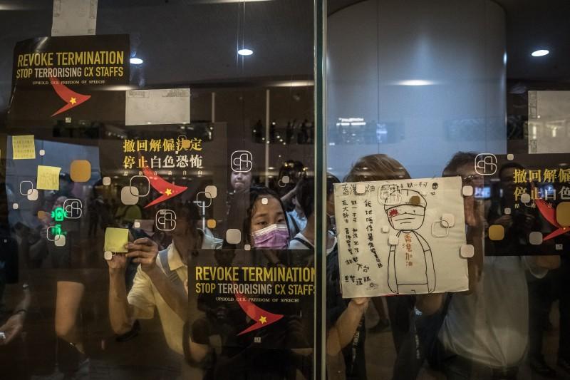 反送中》航空界白色恐怖未停!傳香港國泰再解僱10人