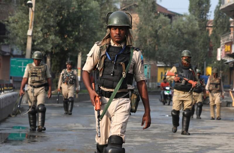 印度軍隊在接壤中國邊境的拉達克地區首度進行軍演,保持對中作戰能力。(資料照,歐新社)
