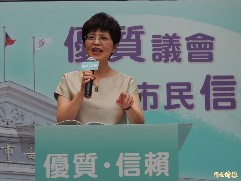 廖達琪指出,如果韓找不到中間選民及年輕選民的需求,「韓真的不用選了」。(資料照)