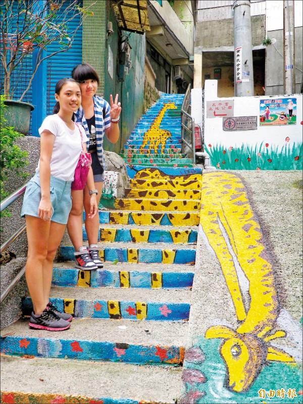 社區彩繪美化變醜化 基隆把關設計