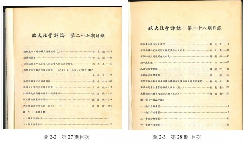 國家圖書館今天出示所收錄的總統蔡英文升等論文期刊紙本,強調沒有不見蹤影,而是妥善保存在國圖館內。(國圖提供)