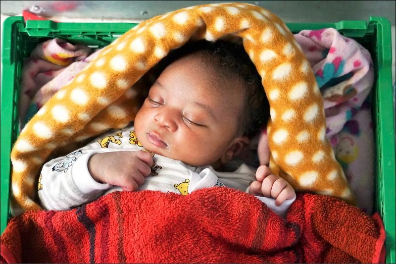 自然產寶寶腸道益菌多 媽媽給的
