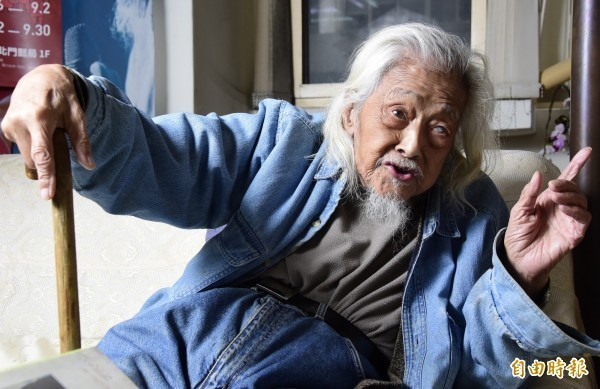 總統府資政、歷史學者、知名作家史明(本名施朝暉)20日晚間11時09分於台北醫學大學附設醫院逝世,享嵩壽103歲。(資料照)