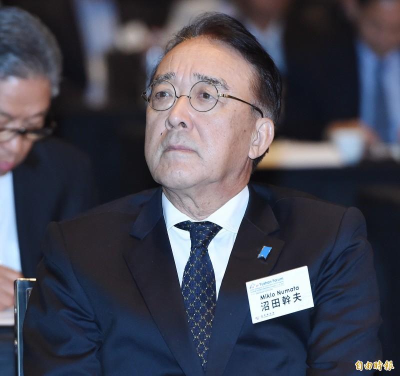 日本駐台代表沼田幹夫今(20)再次就台灣與友邦斷交發表聲明。(資料照,記者廖振輝攝)