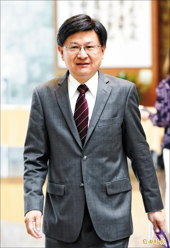 前公懲會委員長石木欽。(記者劉信德攝)