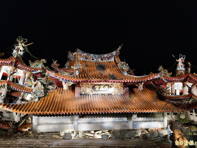 921地震20年 集集武昌宮舊址「微光」點亮希望