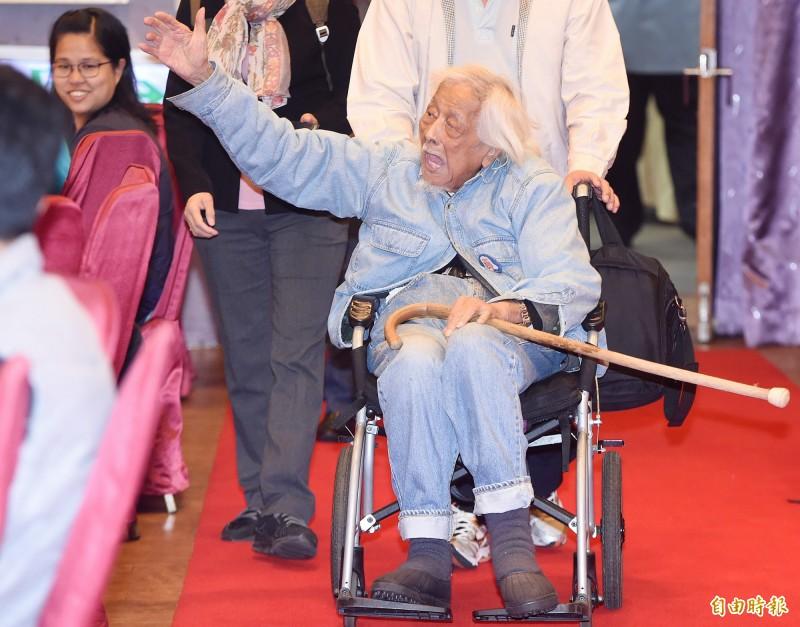台灣獨立建國運動先驅、總統府資政史明昨晚病逝,獨台會及史明教育基金會決定將為史明辦告別趴。(資料照)