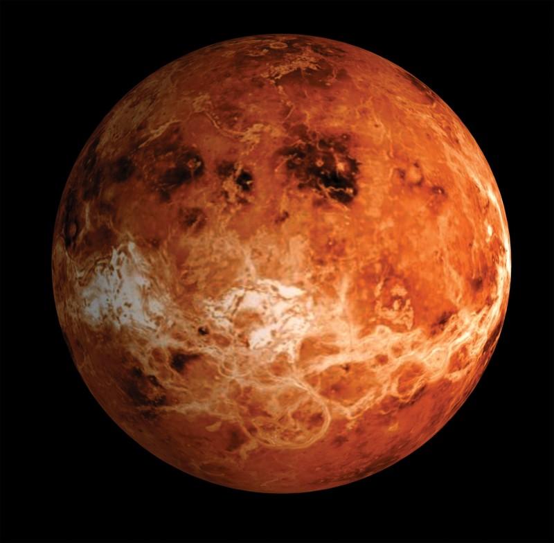 金星可能維持數十億年的適居條件,但一項神祕事件讓金星環境驟變。(美聯社)