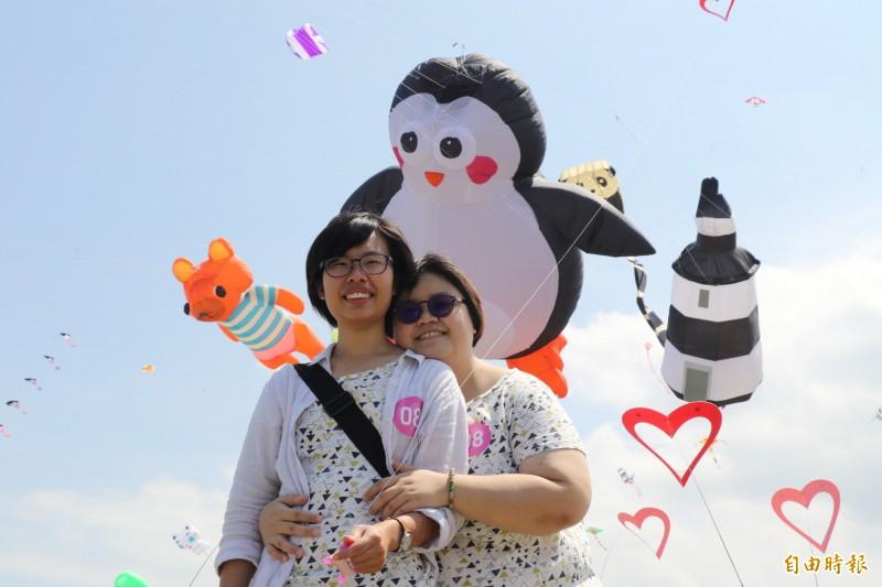 北海岸國際風箏節 同性伴侶「箏」愛不分性別