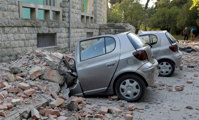 巴爾幹半島國家阿爾巴尼亞於當地時間21日下午4點多發生芮氏規模5.6地震,是當地30年來最強地震。(路透)