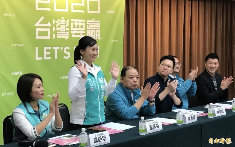聯合國外交官參選 謝佩芬:國家安全不分藍綠