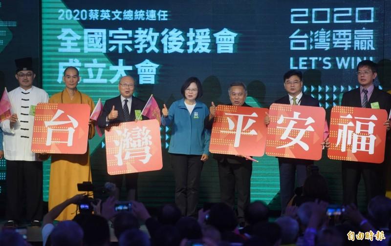 爭取宗教界支持 徐國勇提將「宗教科」升為「宗教司」