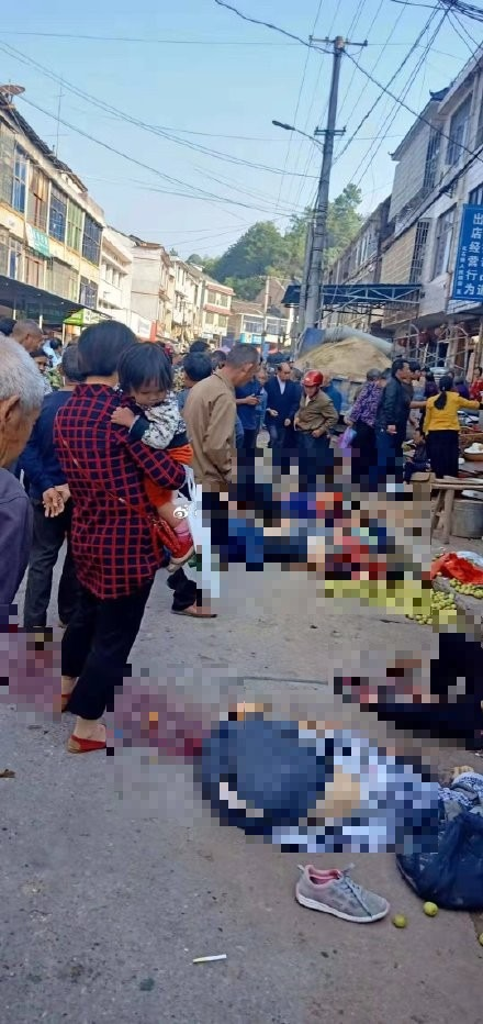 中國湖南貨車衝撞市集已知10死16傷 疑煞車失靈肇禍