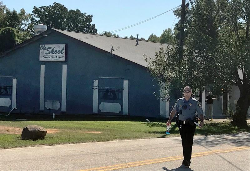 美國南卡州一酒吧遭槍擊,已知2死8傷。(美聯)