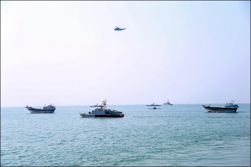 伊朗稱將攜手中俄 印度洋聯合軍演