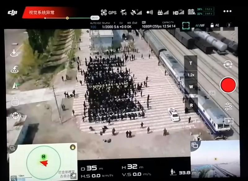 神人分析算出拍攝時地 蒙眼上銬押送新疆維族影片是真的!