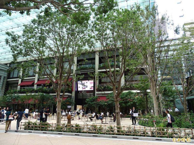 誠品書店與三井不動產攜手首次進軍日本,27日將於東京日本橋的大型購物城「COREDO室町露台」開幕。(駐日特派員林翠儀攝)