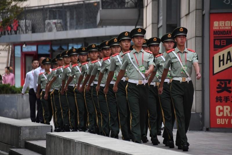 中共建國70週年國慶日將至,全國進入「臨戰」狀態,加強情報監控,排除有威脅的人士。(法新社)