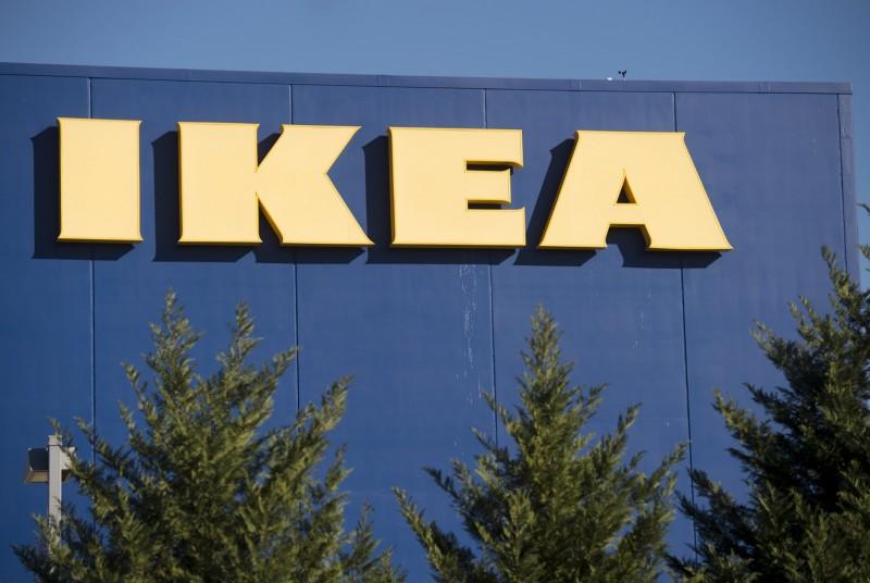 瑞典賣場「宜家家居」(IKEA)在俄羅斯的宣傳廣告中出現納粹口號,引起軒然大波,IKEA急撤廣告對外致歉。(法新社)