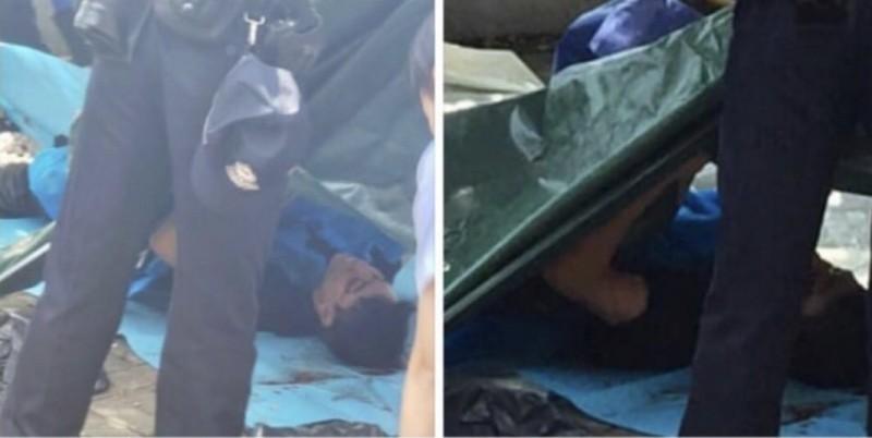 香港反送中事件延燒逾百日,昨日香港荃灣柏傲灣碼頭附近發現一具浮屍;有不少港人認為事件疑點重重,不相信死者是輕生,晚間發起悼念活動,數百名市民響應號召。(圖擷取自網友臉書「Benedict Leung」)