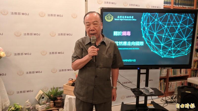 傳高檢署檢察長王添盛將做好做滿,到12月屆齡退休。(記者吳政峰攝)