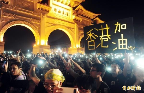 「台灣學生聯合會」敬告中生,在台灣這個國家,不以暴力來解決問題。(資料照)