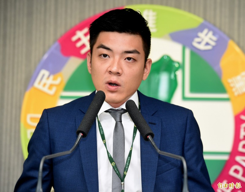民進黨青年部主任兼發言人吳濬彥。(資料照)