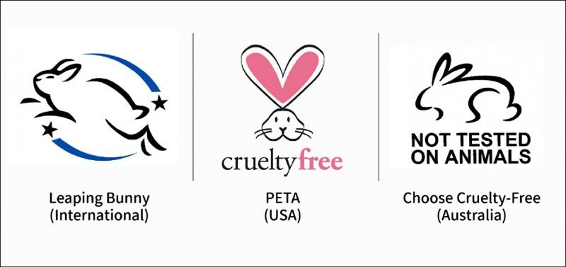 認識國際無動物實驗標章,當個有意識的消費者。(記者劉珮芬/攝影)