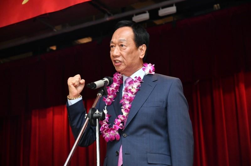 郭辦表示,郭台銘目前已無黨一身輕,對於台灣政治已從總統選舉轉為關心國會未來的席次發展。(圖由鴻海提供)