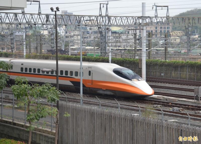 台灣高鐵今天宣布明天(10/1)全線可正常營運,各車次列車依時刻表發車。(資料照,記者侯承旭攝)