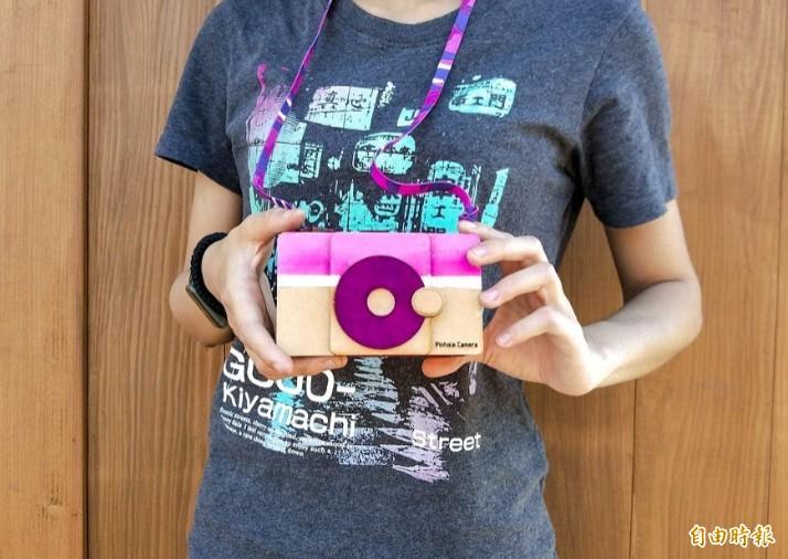 自造者風潮盛行!這個針孔相機沒有鏡頭卻能拍照,成為自造者新動能,也開創無限可能。(記者洪美秀攝)