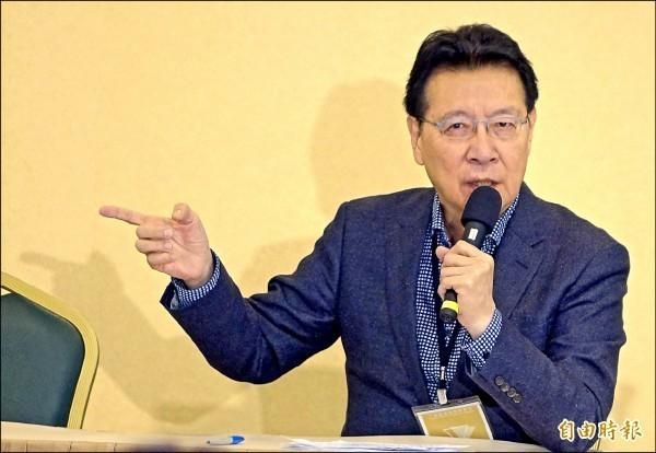 資深媒體人趙少康表示,國民黨十分脆弱、不敢喊出不同意見。(資料照)